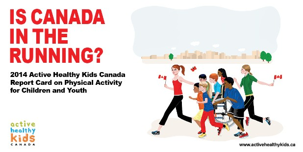 Canadian Kids Need to be Active Throughout the Day, in Every Way
