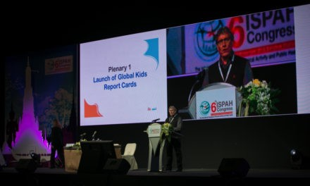Professor Mark Tremblay Delivered Invited Keynote Address at 6th ISPAH Congress in Bangkok