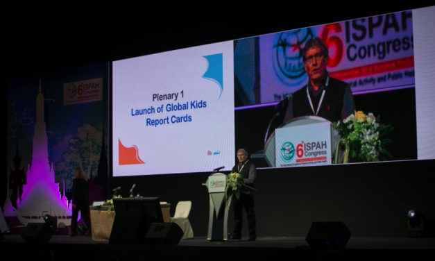Professor Mark Tremblay Delivered Invited Keynote Address at 6th ISPAH Congress in Bangkok