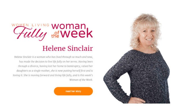Hélène Sinclair Named Woman of the Week by PierretteRaymond.com
