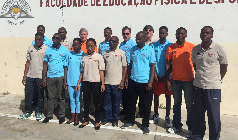 Taru Manyanga and Mark Tremblay Lead Field Staff Training in Mozambique