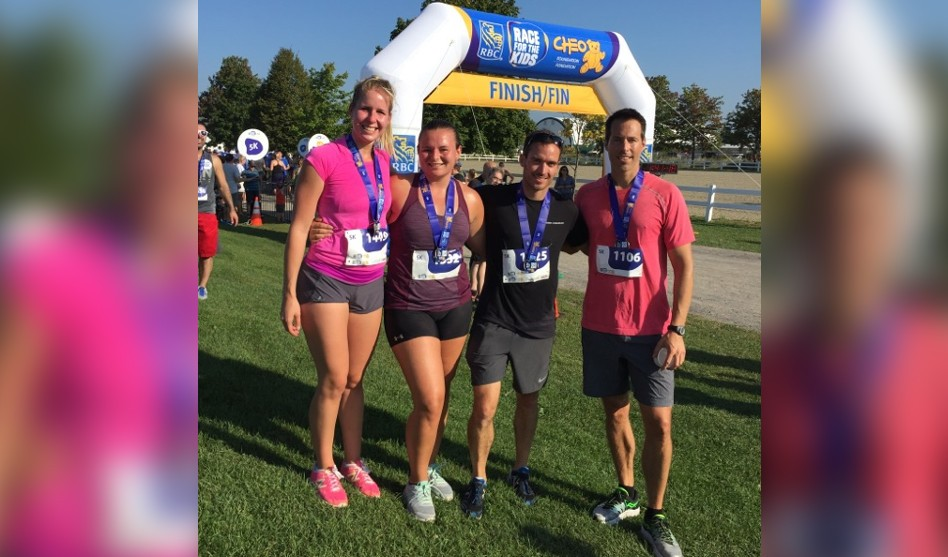 HALO Runs 5K in Ottawa's Inaugural RBC Race for the Kids